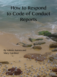 Free code of conduct enforcement book available now